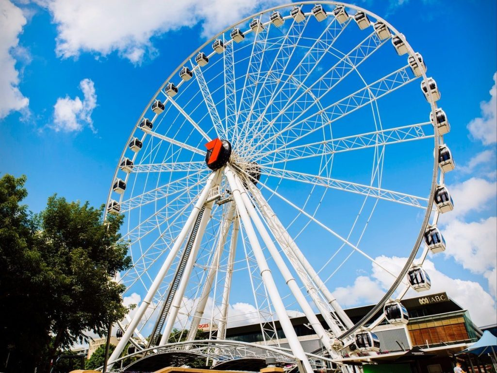 برزبن The Wheel of Brisbane